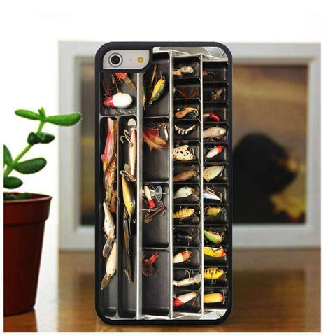 Fishing Tackle Box iPhone Case - OutdoorsAdventurer