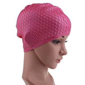 Flexible Waterproof Silicon Swimming Cap - OutdoorsAdventurer