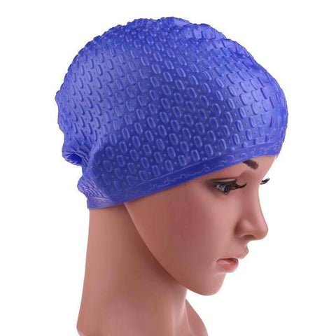 Flexible Waterproof Silicon Swimming Cap