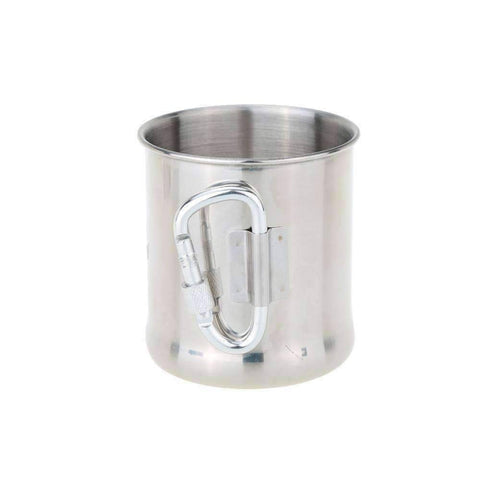 Carabiner Handle Stainless Steel Cup
