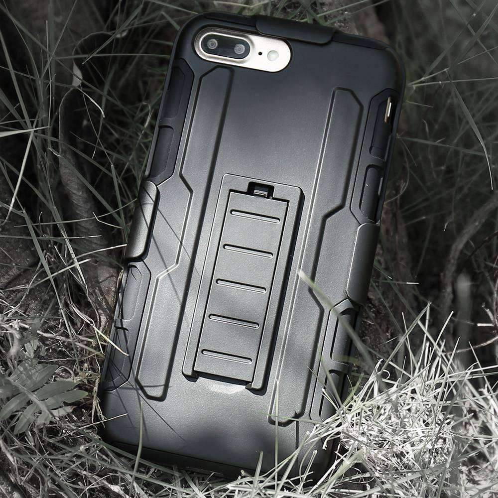 Military Black Armor iPhone Case