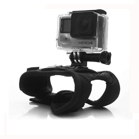 Image of 360 Degree Rotation Wrist Strap Mount + Screw for Gopro Hero 4 - OutdoorsAdventurer