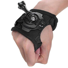 360 Degree Rotation Wrist Strap Mount + Screw for Gopro Hero 4