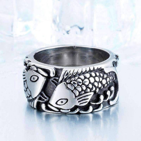 Image of Retro Fish Ring - OutdoorsAdventurer