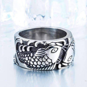 Retro Fish Ring - OutdoorsAdventurer