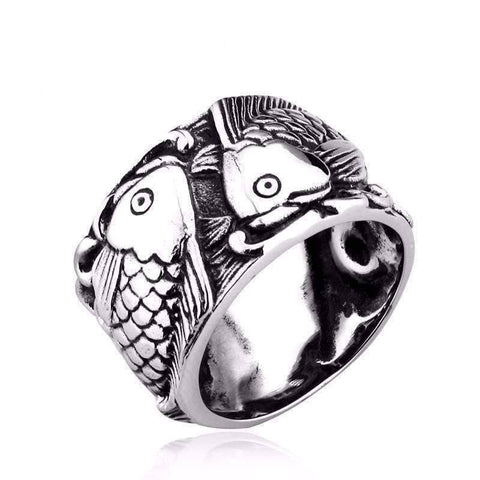 Retro Fish Ring