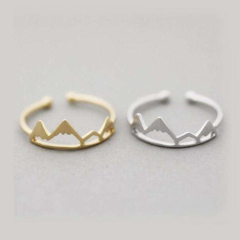 Image of Mountain Inspired Ring - OutdoorsAdventurer