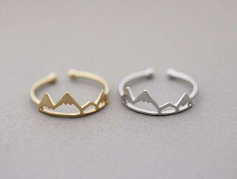 Image of Mountain Inspired Ring