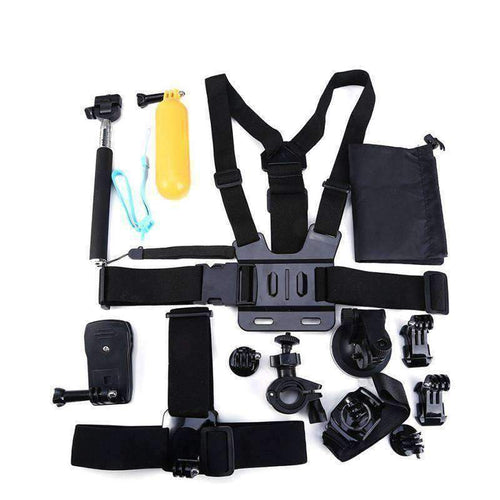 13-in-1 Sports Action Camera Accessories Kits - OutdoorsAdventurer