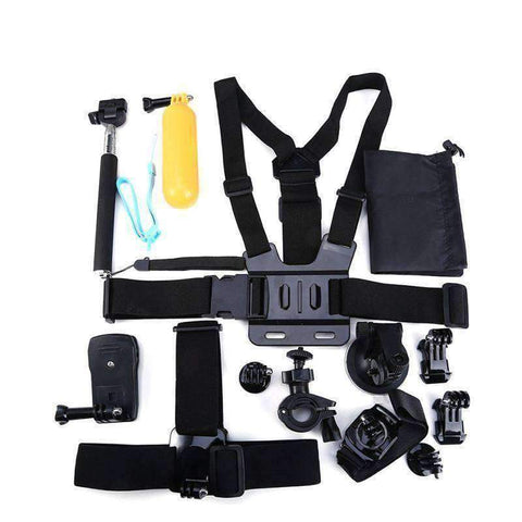 13-in-1 Sports Action Camera Accessories Kits