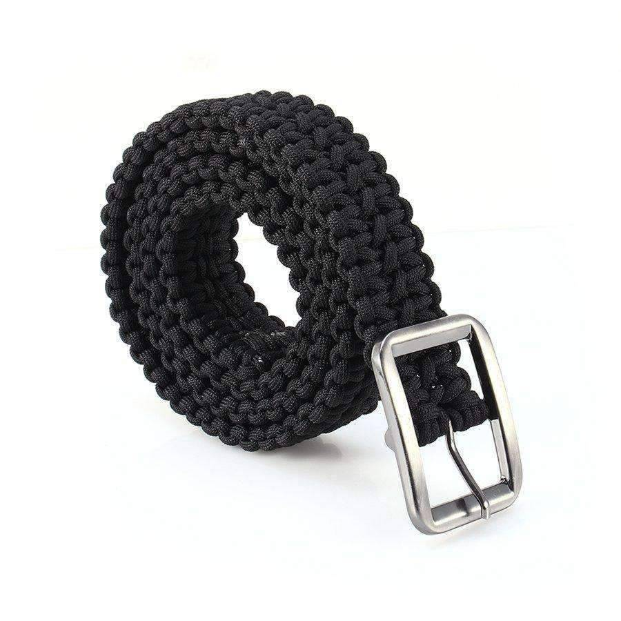 Outdoor Survival Paracord Belt - OutdoorsAdventurer