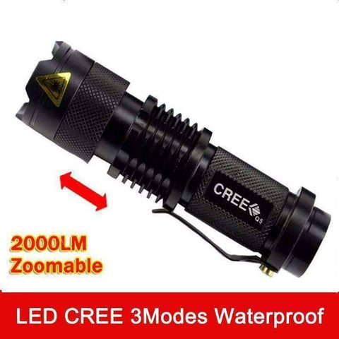 Image of 2000 Lumens Flashlight - OutdoorsAdventurer