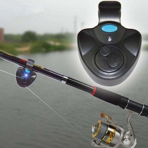 Clip-On Electronic Fish Bite Alarm with LED Light - Free to the First 250 Customers, Just Pay Shipping!