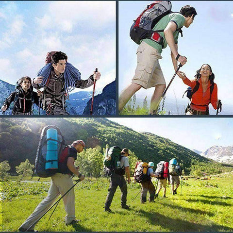 Image of Adjustable Hiking Pole - OutdoorsAdventurer