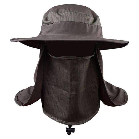 Image of Outdoor Sun Protection Fishing Neck Face Flap Hat