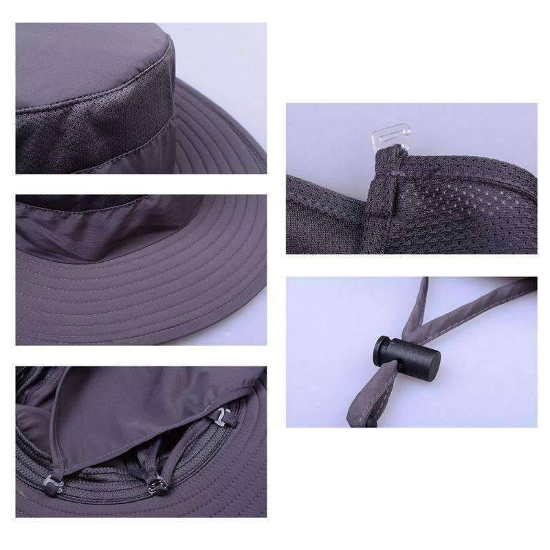 Outdoor Sun Protection Fishing Neck Face Flap Hat