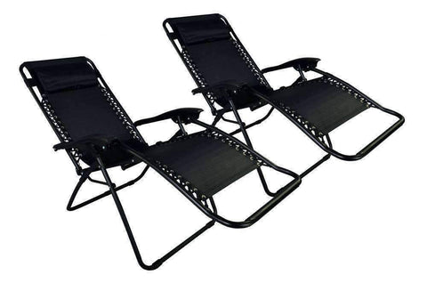 Image of Zero Gravity Two Lounge Chairs