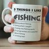5 Things I Like Almost As Much As Fishing Mug (Beer) - OutdoorsAdventurer