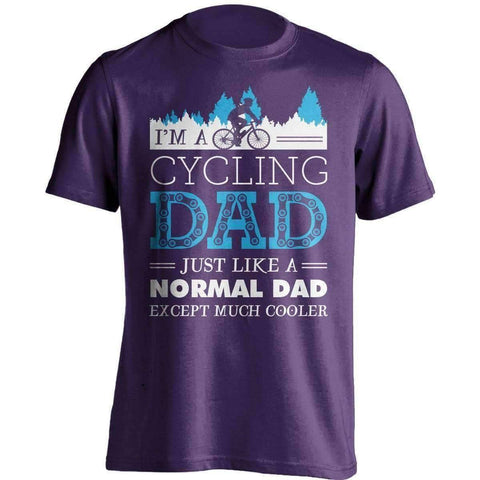Image of Much Cooler Cycling Dad T-Shirt