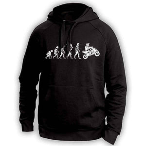 Human Evolution Quad Hoodie - OutdoorsAdventurer