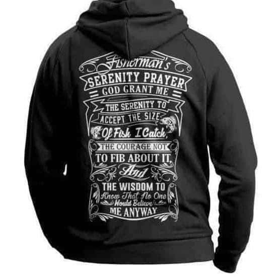 Fisherman's Prayer Hoodie