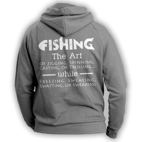The Art Of Fishing Hoodie