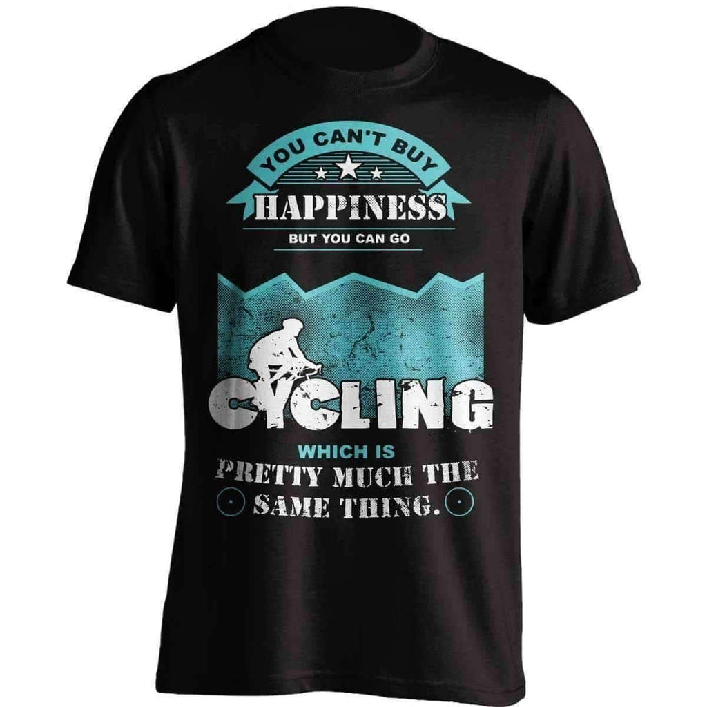 You Can't Buy Happiness Cycling T-Shirt