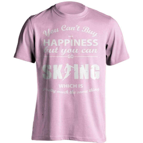 Image of You Can't Buy Happiness Skiing T-Shirt