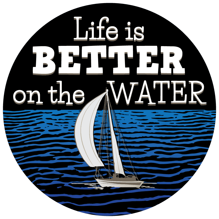 """Life Is Better On The Water"" Sailing Bracelet - OutdoorsAdventurer"