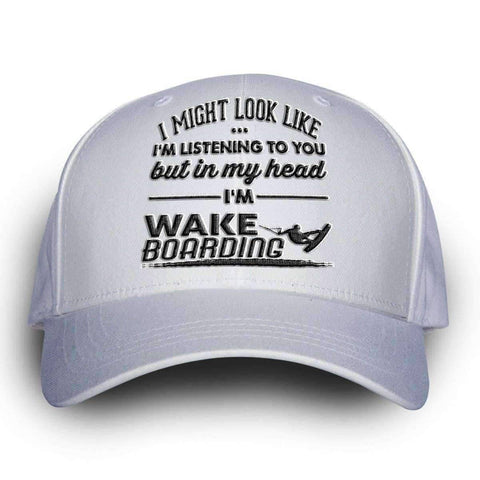 "Image of ""I Might Look Like I'm Listening To You"" Wakeboarding Cap - OutdoorsAdventurer"