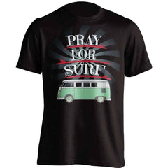 """Pray For Surf"" Surfing T-Shirt"