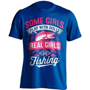 Real Girls Go Fishing T-Shirt - OutdoorsAdventurer