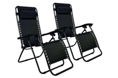 Zero Gravity Two Lounge Chairs
