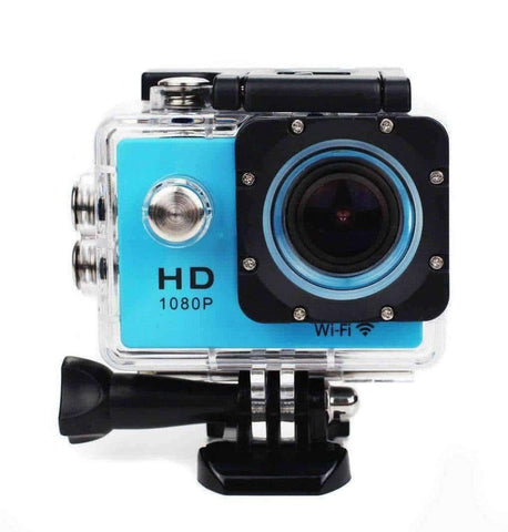 Image of 12MP HD 1080P Digital Sports DV Action Waterproof Camera with WiFi - OutdoorsAdventurer