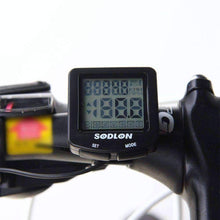 Load image into Gallery viewer, LCD Bike Computer with 20+ Features , Waterproof + Backlit - OutdoorsAdventurer