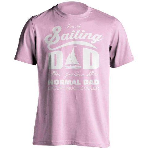 Image of Much Cooler Sailing Dad T-Shirt - OutdoorsAdventurer