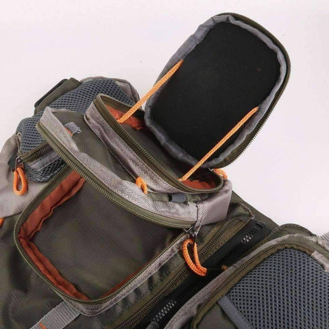 Image of Fishing Vest With Rod Holder