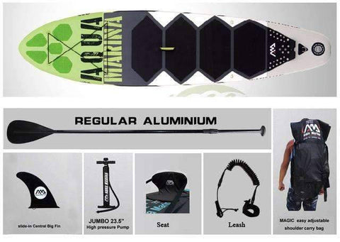 Image of AQUA MARINA 10 Feet Inflatable Stand Up Paddle Board