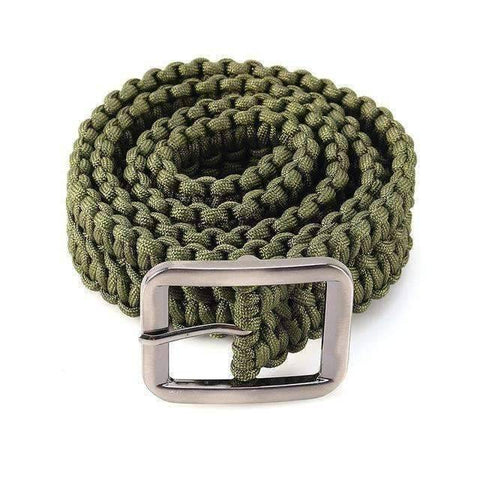 Image of Outdoor Survival Paracord Belt - OutdoorsAdventurer