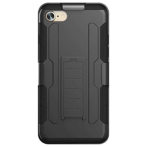 Image of Military Black Armor iPhone Case - OutdoorsAdventurer