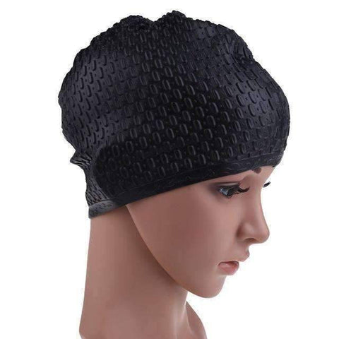 Image of Flexible Waterproof Silicon Swimming Cap - OutdoorsAdventurer
