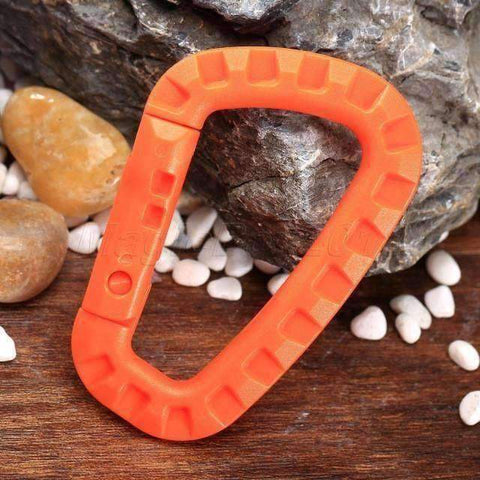 Image of 5 Pieces Plastic Carabiners Buckle Hook - OutdoorsAdventurer