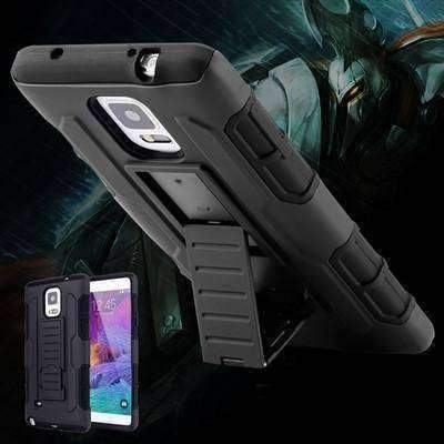 Military Black Armor Android Phone Case - OutdoorsAdventurer