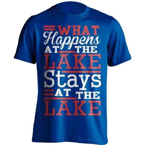 What Happens At The Lake Fishing T-Shirt