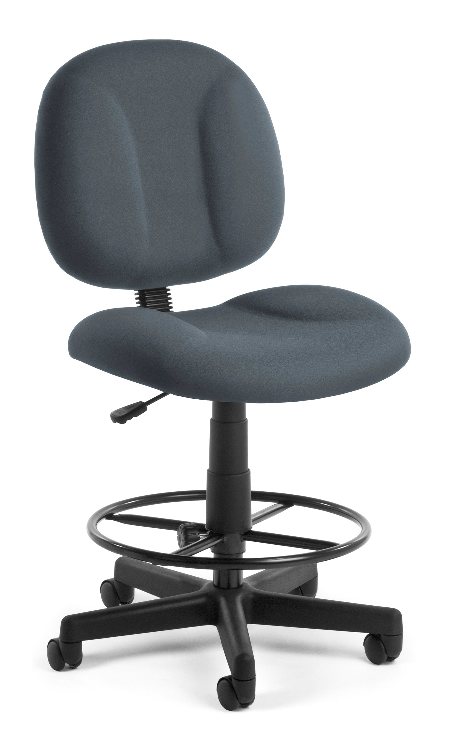 Comfort Series Superchair Armless Fabric Drafting Kit Task Chair