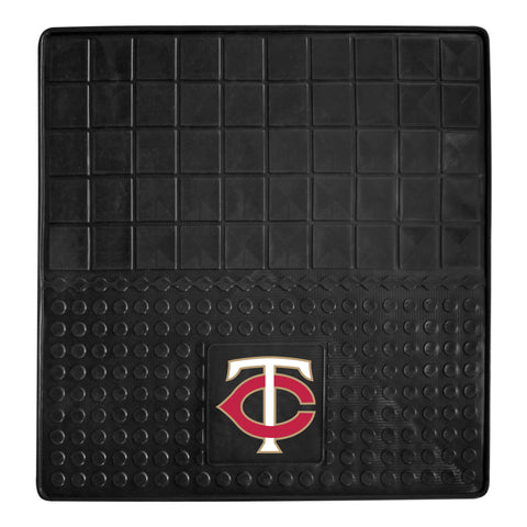 "MLB - Minnesota Twins Heavy Duty Vinyl Cargo Mat 31""x31"""