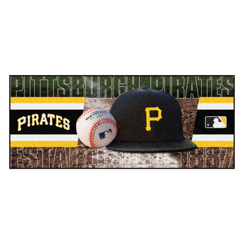 "MLB - Pittsburgh Pirates Baseball Runner 30""x72"""