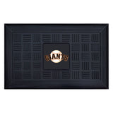 "MLB - San Francisco Giants Medallion Door Mat 19.5""x31.25"""