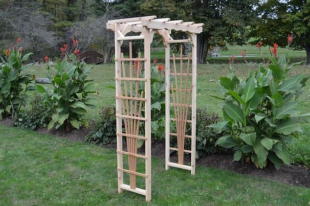 3 Ft Concord Handcrafted Patio Porch Outdoor Garden Cedar Arbor