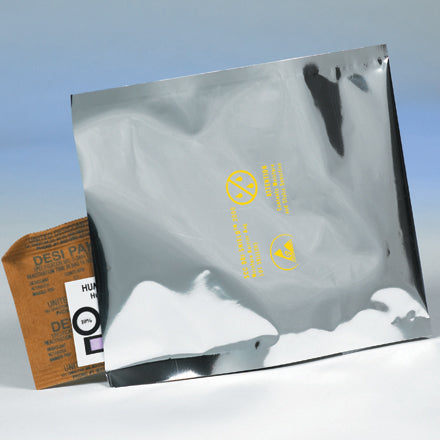 3.6 Mil Dri-Shield™ Moisture Barrier Silver Static Shielding Poly Bags